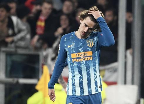 Griezmann, tras la derrota del Atlético en Turín.