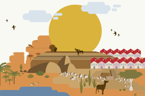 El desierto donde se ensaya la España del cambio climático