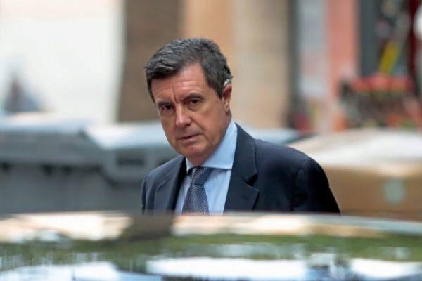 El expresidente balear Jaume Matas, llegando a uno de sus juicios.