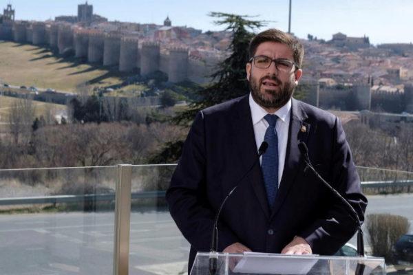 Jesus Manuel Sánchez Cabrera, el día 1, al anunciar su marcha del PP.