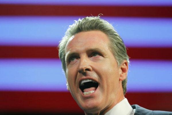 FILE PHOTO: Democratic gubernatorial candidate Gavin Newsom elected...