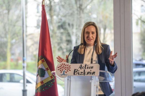 Amaya Fernández, secretaria del PP del País Vasco.