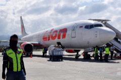 Un Boeing 737 MAX de Air Lion, como el siniestrado en octubre.
