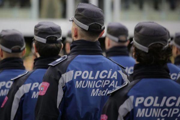 Promoción de policías municipales de Madrid.