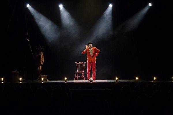 Una imagen de la obra de Rámper en el Circo Price.