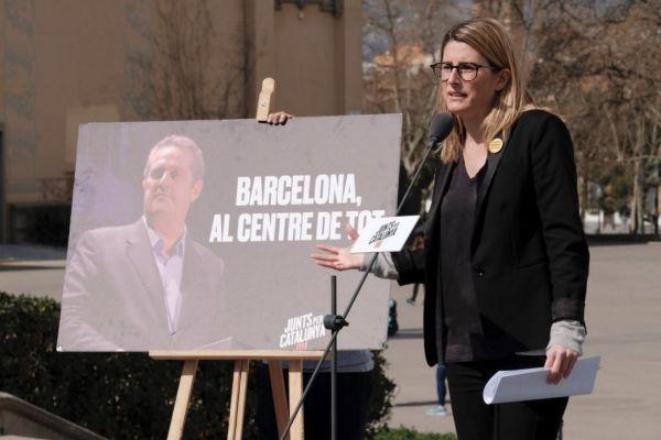Elsa Artadi, portavoz del Gobierno catalán.