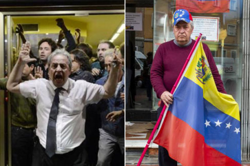 De camarero de 'rodea el Congreso' a 'Vengador' de los refugiados que huyen de Maduro