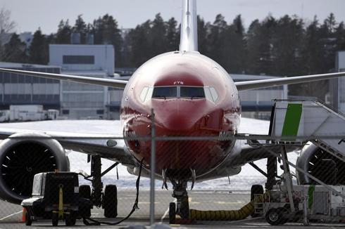Un Boeing 737 de Norwegian en Helsinki