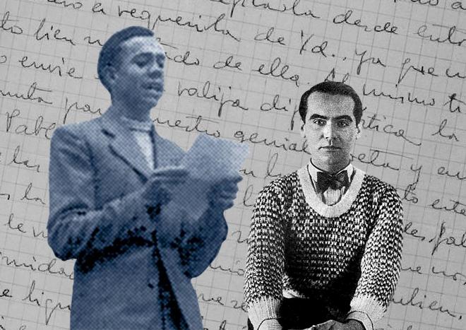 """Carta de Lorca a Miguel Hernández: """"Sé que sufres con esas gentes puercas que te rodean"""""""