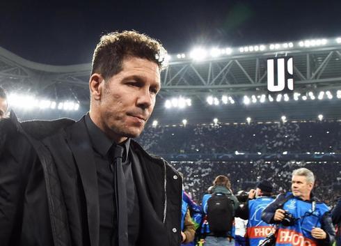 IT01. TURÍN (ITALIA).- El entrenador del Atlético Diego <HIT>Simeone</HIT> es visto durante el partido de vuelta por los octavos de final de la Liga de Campeones de la UEFA entre Juventus FC y Club Atlético Madrid este martes, en el estadio Allianz, en Turín (Italia).