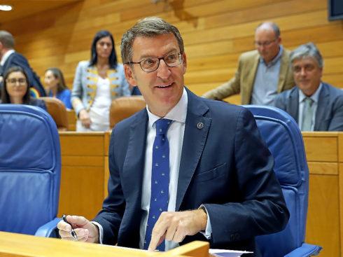 El presidente de la Xunta, Alberto Núñez Feijóo.