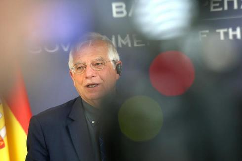 Josep Borrell, en una rueda de prensa ofrecida este miércoles en Belgrado.