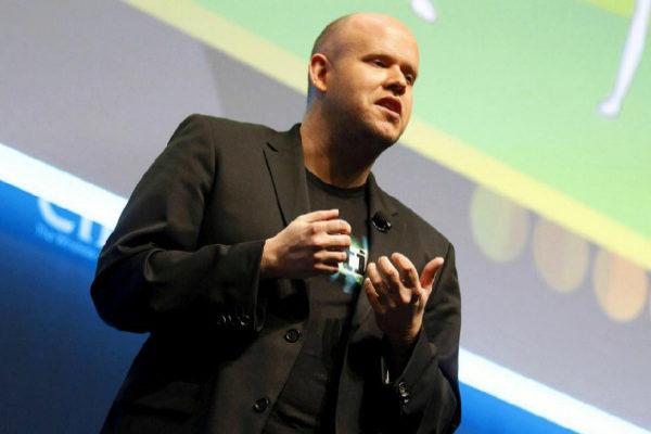 Daniel Ek, CEO y fundador de la compañía sueca Spotify.