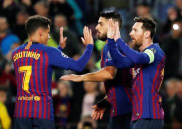 El Barcelona, único español en cuartos tras eliminar al Lyon