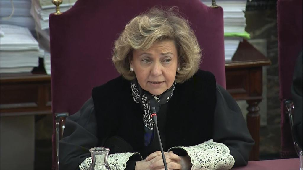 La fiscal general del Estado Consuelo Madrigal.