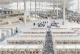 La Biblioteca de Doha, obra de Rem Koolhaas.