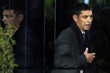 Josep Lluís Trapero, en la Audiencia Nacional en marzo del pasado año.