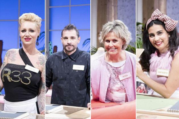 Isabel, Toni, Rosa y Amparito, finalistas de Maestros de la Costura en La 1 tras la expulsión de Lara