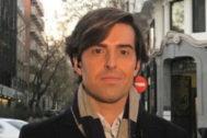 Pablo Montesinos, en una imagen de su cuenta de Twitter.