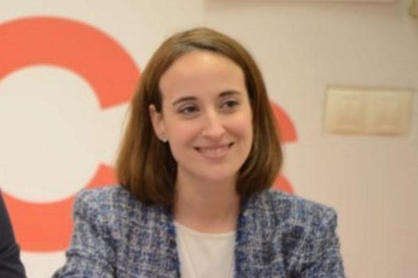 Pilar Vicente, en una imagen de su cuenta en Twitter.