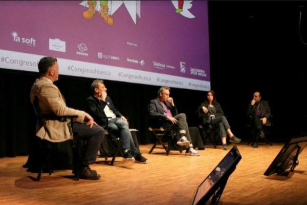De izquierda a derecha: Pedro de Alzaga, Guillermo Culell, Borja Echevarría, Marta Peirano y Jesús Maraña.