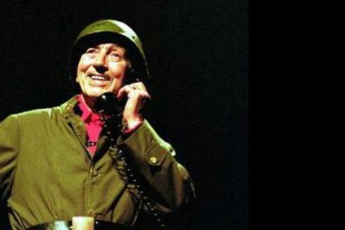 Miguel Gila, durante una de sus actuaciones.