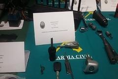 Llave decoder empleada por la banda para abrir los vehículos.