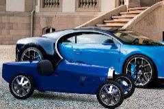Un Bugatti eléctrico de 30.000 euros... para niños