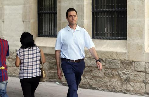 Miguel López, en una de sus comparecencias en el juzgado.