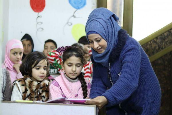 Mi lucha para que los niños de Alepo sigan asistiendo a la escuela