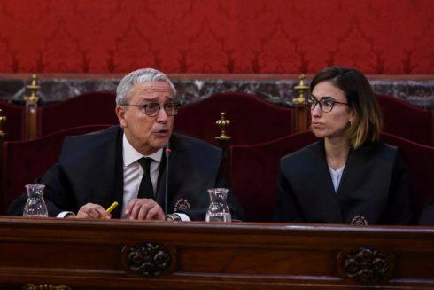 El letrado de Joaquim Forn, Xavier Melero, en el Tribunal Supremo.