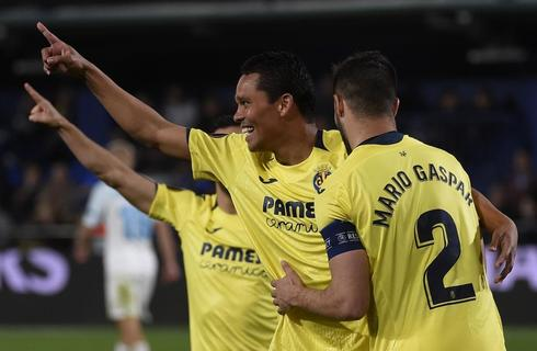 Bacca celebra el segundo gol ante el Zenit.