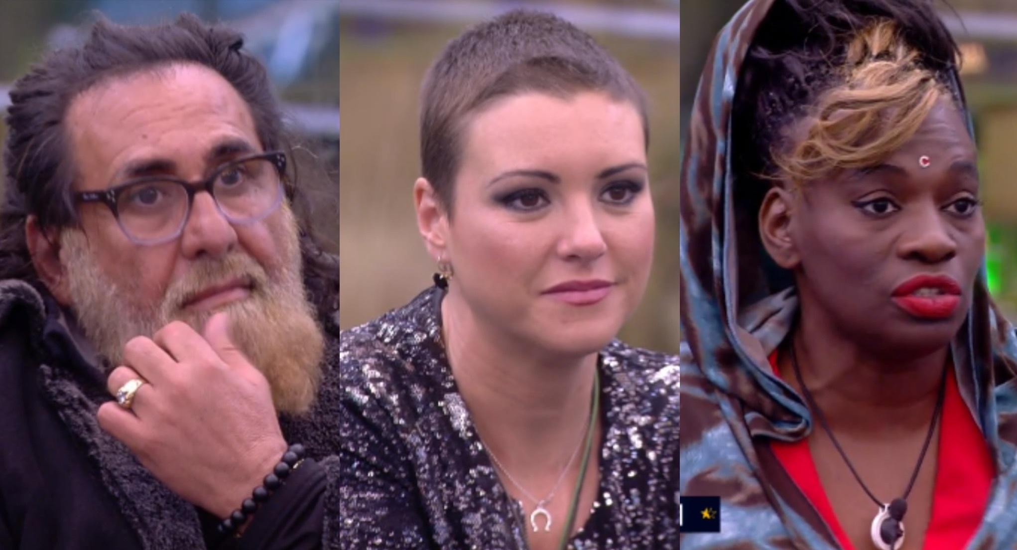 Juanmi, Carolina y Carolina fueron nominados en la gala 11 de GH Dúo