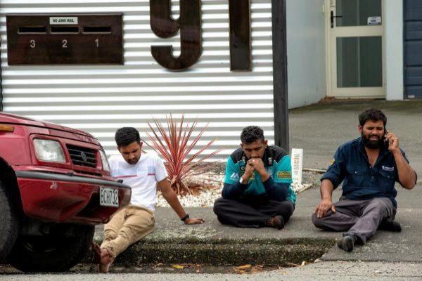Supervivientes del atentado en Christchurch, Nueva Zelanda.