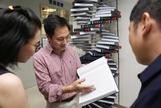 El científico He Jiankui, que anunció hace unos meses el nacimiento de dos niñas con su ADN modificado.