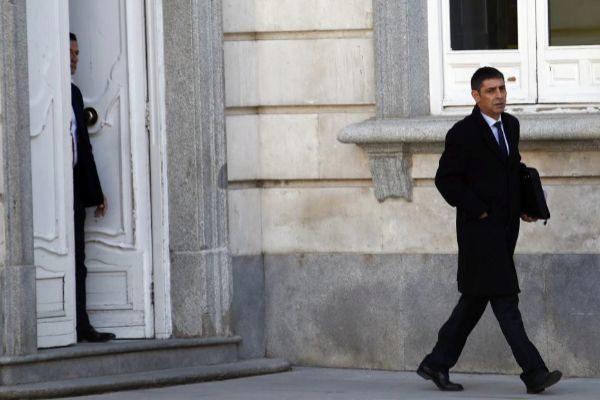 14/03/2019.Foto Javier Barbancho.Madrid. Comunidad de Madrid Juicio sobre el Proceso receso sale Mayor <HIT>Trapero</HIT>