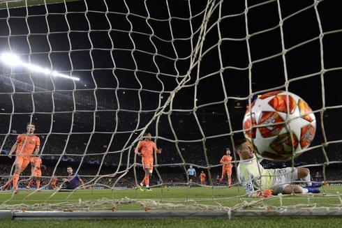Uno de los goles del FC Barcelona en Champions Laegue