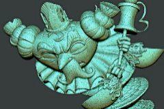 Así se modela una falla en 3D