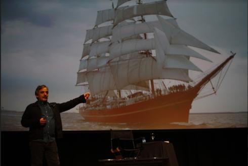 Juan Pablo Meneses, fundador de la plataforma Portable Journalism