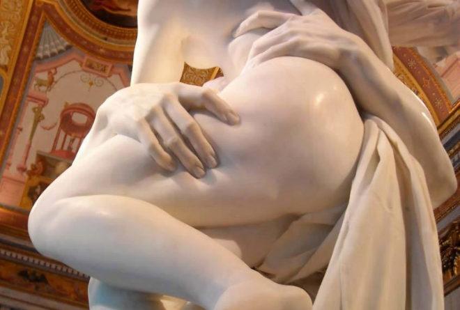 'El rapto de Proserpina0, de Bernini.