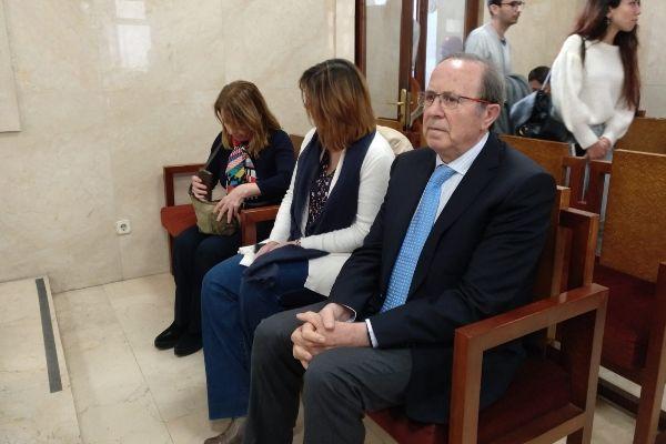 José María Rodríguez durante el juicio.