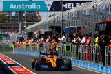 Muchos problemas para Sainz en su estreno con McLaren