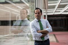 Ignacio Aguado, en una entrevista con EL MUNDO.