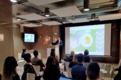 J.A. Gómez-Pintado, presidente de Vía Célere, en la presentación del proyecto.