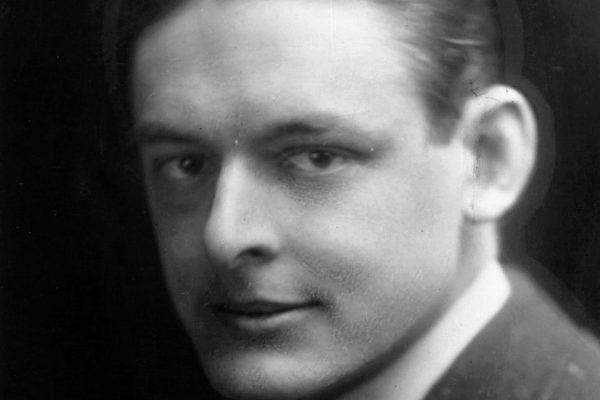 Thomas Stearns Eliot (San Luis, Misuri, 1888 - Londres, 1965).