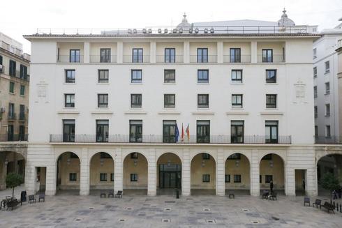 La Audiencia Provincial de Alicante, en foto de archivo.
