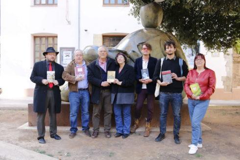 Los editores, este viernes, en el encuentro en Castellón.