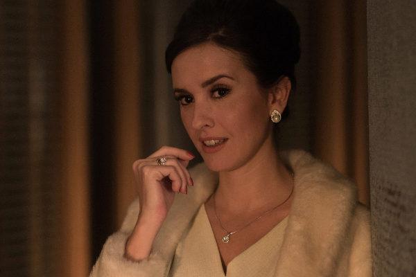 La actriz Marina San José, en la serie '45 revoluciones'.