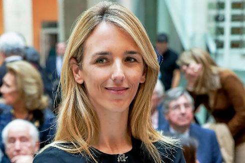 La periodista Cayetana Álvarez de Toledo