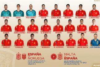 Luis Enrique le da la vuelta a España